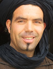 Morocco (gerben more) Tags: man smile smiling morocco turban marokko stubbles goatie essouira