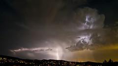 Lightning (a.penny) Tags: gewitter thunderstorm thunder lightning blitz nikon d300 tokina 1116 mm 116 atx apenny atzelberg taunus cloud wolken dx pro