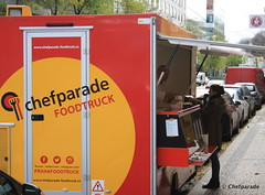 Chefparade Foodtruck - Andl (Chefparade) Tags: food festival truck prague fastfood praha hamburger delivery streetfood cookingschool foodtruck chefparade naplavka