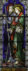 St Barnabas and Saul (Lawrence OP) Tags: cathedral glasgow saints stainedglass saul episcopal apostles stbarnabas stmarys