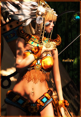 flickr-035 native (yakochi) Tags: native fantasy secondlife selfphoto gacha
