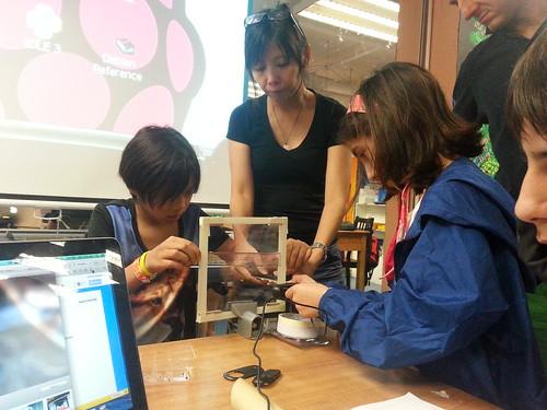 Hacking plastic sensors