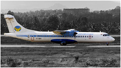 Air Deccan ATR 72-500 VT-DKK (Sri_AT72 (Sriram Hariharan Photography)) Tags: plane airport aviation air bangalore kia spotting deccan atr planespotting atr72 blr atr72500 bengaluru airdeccan bial aviationphotography vobl bengaluruinternationalairport vtdkk kempegowdainternationalairport