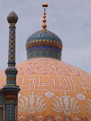 Cupula en el Complejo del Santuario de Ahlul Bayt - Qum (Iran) (Montse Mars) Tags: iran islam persia olympus mezquita ftima cpula qom religin mahoma montsemars mundomusulman
