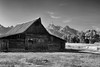 Old Times (Erazzphoto) Tags: blackandwhite bw barn photography nationalpark mormon wyoming grandtetons mormonbarn