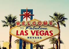Welcome to Fabulous Las Vegas (SOMETHiNG MONUMENTAL) Tags: travel canon lasvegas nevada retro palmtrees neonsign welcome g12 somethingmonumental mandycrandell