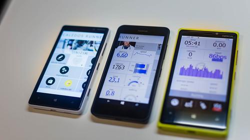 white yellow mobile nokia cellular fitness runner tracking app windowsphone fastcompany v29 intervaltraining runkeeper runtastic caledos lumia920 lumia820 lumia630