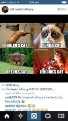 Jericho shares a heelbook meme