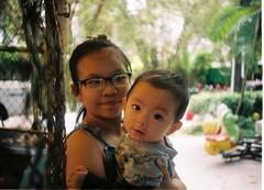 My son (Pankha Nikon) Tags: portrait baby film analog children lomo lomography fuji lomolca fujifilm analogue filmcamera