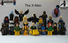 Marvel: The X-Men (The_Lego_Guy) Tags: storm alex phoenix girl scott grey frost lego jean kurt iii emma kitty cable pride cyclops xmen iceman beast bobby warren xavier forge rogue professor logan drake hank marvel wagner bishop sunspot archangel gambit wolverine nightcrawler summers colossus mccoy the warpath worthington shadowcat havok