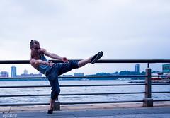 DSC_5109 (epfalck) Tags: nyc blue dance rivers runner chelseapier maledancer nikond610