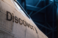 Space Shuttle Discovery at Udvar Hazy