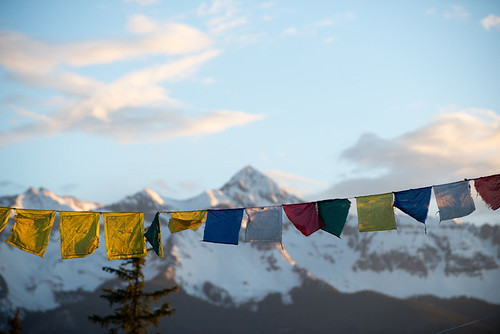 Prayer Flags & Wilson Peak