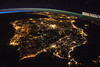 Iberian Peninsula at Night (NASA, International Space Station, 07/26/14) (NASA's Marshall Space Flight Center) Tags: france portugal spain nasa morocco ceo andorra iberianpeninsula straitofgibraltar internationalspacestation earthfromspace crewearthobservations stationresearch