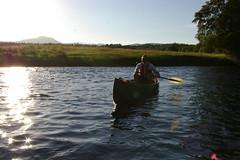 Canoeing on the Teith (matt_outandabout) Tags: summer scotland canoe teith