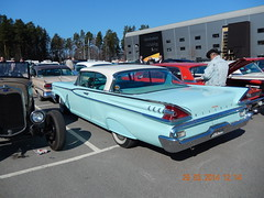 Mercury 1959 (caddy58) Tags: ford chevrolet 1955 car power mercury sweden convertible cadillac 1958 1957 imperial dodge oldtimer 1956 chrysler meet 1959 1960 2014