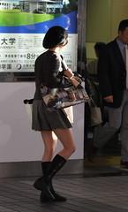 cute uniform girlsI (bwpingu1) Tags: people beauty japan uniform nagoya bwpingu
