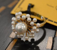 """Pearl & Gold Ring • <a style=""""font-size:0.8em;"""" href=""""http://www.flickr.com/photos/51721355@N02/14714269916/"""" target=""""_blank"""">View on Flickr</a>"""