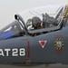 Belgian Air Component Alpha Jet1B AT28 pilot close