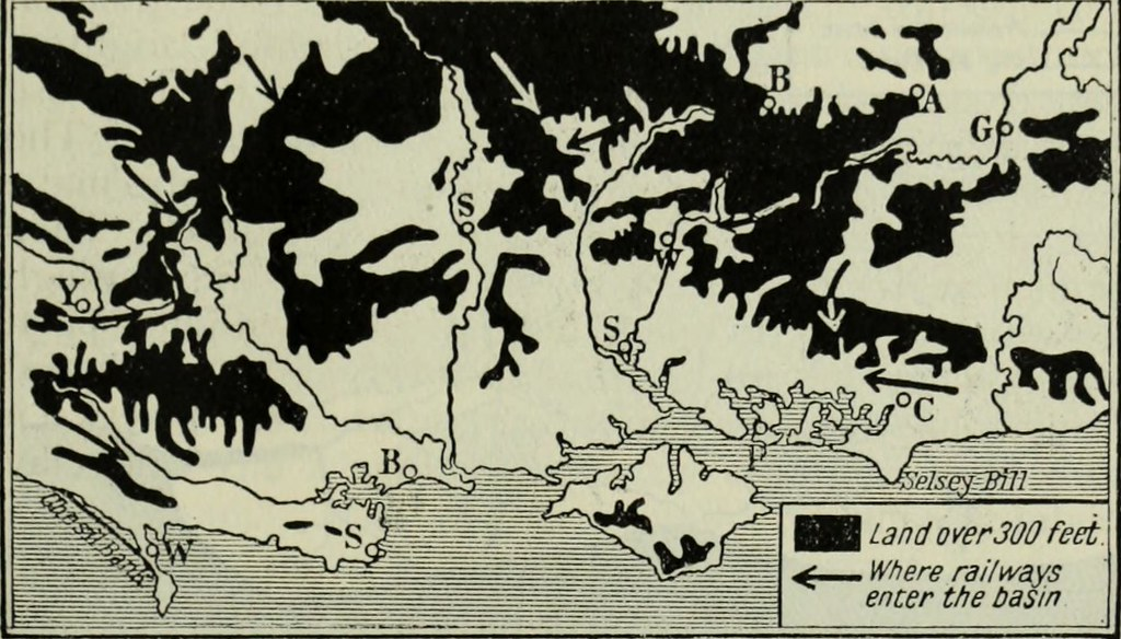 "Image from page 158 of ""A regional geography of the world, with diagrams and entirely new maps"" (1922)"