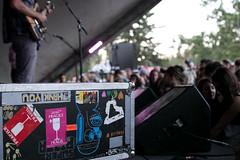 Chad VanGaalen @ Prince's Island Park. 2014 Calgary Folk Music Festival. (Calgary Folk Festival) Tags: canada calgary festival photo audience crowd saturday alberta calgaryfolkmusicfestival musicfestival cfmf princesislandpark 2014 chadvangaalen festivalgoer davidkenney