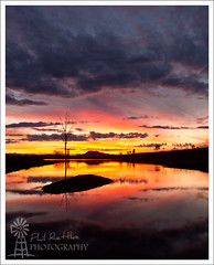 The 7th of June (Phil Rettke) Tags: sunset shower dusk qld queensland ipswich bendemeerstorm