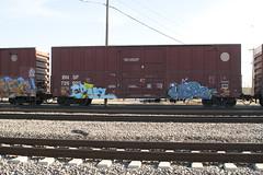 Cruel Hope4 (Psychedelic Wardad) Tags: heavymetal cruel nmph hope4 ipc hm graffiti freight