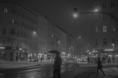 Danziger (i bi) Tags: berlin germany east ost deutschland street city winter verschneit neuschnee umbrella snow