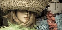 "Sunday Girl (Jay:Dee) Tags: ""topw2017rs"" topw toronto photo walks gerrard street store front window mannequin hat"