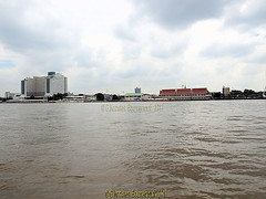 The Chao Phraya River boat from  at Wat Rajsingkorn  or Wat Prakarai  next to Asiatique, the Riverfront, Charoen Krung road, Bang Kho Laem District, Bangkok, Thailand. (samurai2565) Tags: asiatique theriverfront chaophrayariver marketsinbangkok nightmarketinbangkok asiatiquetheriverfront 2194charoenkrungroad watprayakrai bangkholaem bangkok10120 thailand watrajsingkorn watprakarai