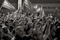 _DSF0188 copie (sergedignazio) Tags: france paris aubervilliers meeting lutte ouvrière arlette laguilller nathalie arthaud communisme élection présidentielle travailleurs