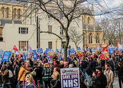#SaveOurNHS March, London 4/3/17 (Catherine North) Tags: protest demonstration demo healthcare nhs saveournhs cuts funding london march