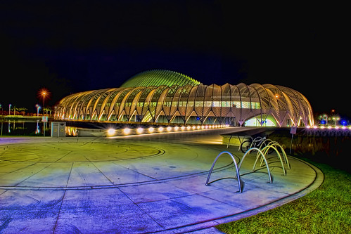 IST Building, Florida Polytechnic University, 4700 Research Way, Lakeland, Florida, USA / Architect: Santiago Calatrava / Contruction ended: 2014