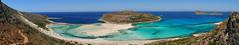 La Crête. (julien ( l'ours )) Tags: panasonic dmc fz50 panorama bali balos beach plage presquîle crête kreta kriti mer panoramique landscape paysage granvoussa