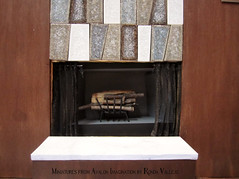 I finally finished the fireplace! (wpnschick) Tags: 16thscalediorama barbiediorama midcenturymodernminiature