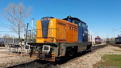 85-2005-3@ Remiza Brazi (Chirila Alexandru) Tags: ldh gfr grup feroviar roman locomotiva diesel hidraulica cfr caile ferate romane train trains rail railway