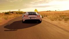 Dubai Police Aston Martin One-77 (nikitin92) Tags: game screenshots vidoegame forzahorizon3 pc dubai police aston martin one77 car sportscar racing road