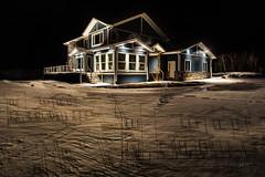 House w Plans (Terry L Richmond) Tags: architecture blueprints design build building house home winter snow longexposure canon6d canon1740 terryrichmond