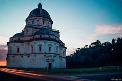 Todi, Tempio della Consolazione (___minga) Tags: todi tempio della consolazione chiesa umbria italia italy cupola architettura tramonto light painting sun sunny beautiful