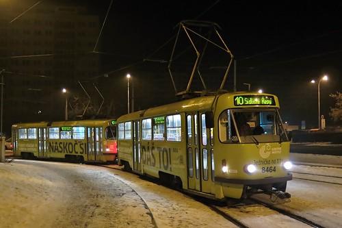 ČKD Tatra T3R.P, #8464, Sídliště Ďáblice