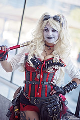 Harley Quinn - DC Comics (Lyon Hart Photography) Tags: animematsuri animematsuri2017 houston texas cosplay cosplayer cosplaygirl cosplayphotgraphy cosplayphotoshoot photoshoot kawaii sexy hot beautiful girl dc comics dccomics hero superhero villain antihero