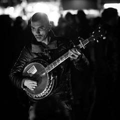 Life Is Live (Cornelli2010) Tags: canonef70200mm14l canoneos5dmarkiii bw blackandwhite candid djemaaelfna handmade live marokko marrakech marrakesch marrakesh morocco music musician people portrait sw schwarzweis streetphotography