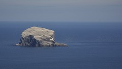 The Bass Rock..xx (shona.2) Tags: volcanic island lighthouse water beach sea birds eastlothian scotland bassrock