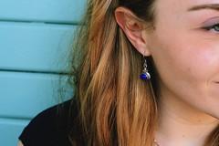 (yleniamachine) Tags: earing blue blonde