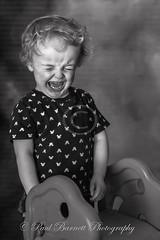 Quaid Impromptu Photoshoot (slaup) Tags: grandchild grandson child boy infant portrait crying expression bw monochrome