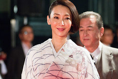 "Inamori Izumi from ""Stray Nightingale"" at Opening Ceremony of the Tokyo International Film Festival 2016"