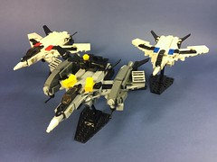 VF-25S Messiah (ZiO Chao) Tags: lego macross moc valkyrie vf25 messiah nuns space sms fighter skull leader jetpack