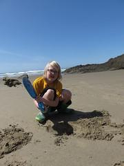 action shot, digging edition (carolyn_in_oregon) Tags: crescentbeach cannonbeach pacificocean ecolastatepark coast chiron