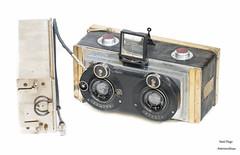 Brizet - Le Physioscope, stereo, Saphir f 4,5 (rare+++) (1922) (Anteriorechiuso Santi Diego) Tags: brizet physioscope stereosaphir rare 1922 camera