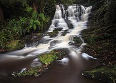Bridal Veil Falls (Jaims Gibson) Tags: waterfall water nd le leefilters cascade newzealand jamesgibsonphotography
